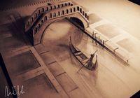 Удивительные 3D-рисунки от Muhammad Ejleh (9 фото)