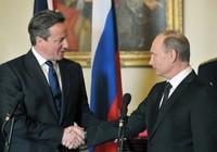 Путин и Кэмерон провели отдельную двустороннюю встречу за закрытыми дверями