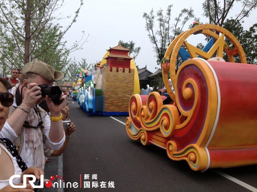 Сбор материалов для мероприятия «Красивый Пекин в глазах иностранных друзей» на Пекинской ярмарке садово-паркового искусства