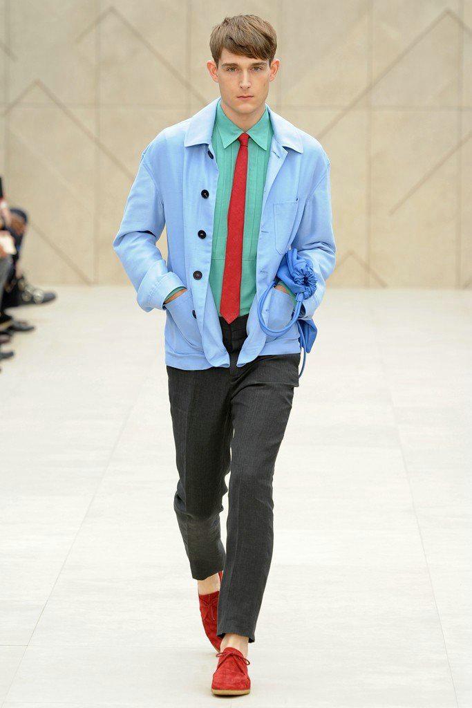 629ee9c29f98 Модная мужская одежда от «Burberry Prorsum» на весну-лет 2014 г ...