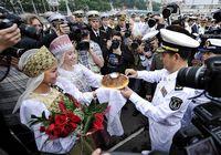 Отряд военных кораблей Китая в объективах российских СМИ