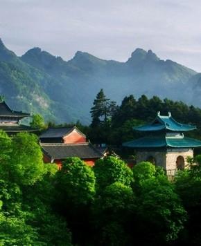 Путешествие по Китаю: Горы Уданшань