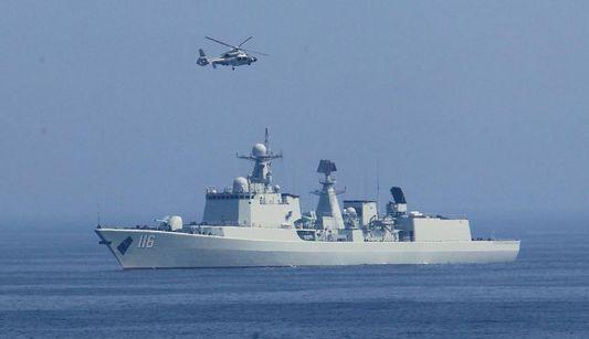 Китай и Россия провели оборонительные учебные маневры