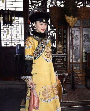 Новый образ Фань Бинбин в парадном платье императрицы