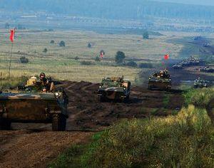 Ландшафт китайско-российских военных учений подходит для применения крупнокалиберного оружия