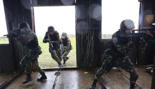 В рамках китайско-российских совместных военных учений 'Мирная миссия-2013' организована первая общая отработка практических действий войск