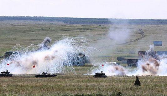 Мирная миссия-2013: китайская и российская стороны провели практическую боевую скоординированную тренировку