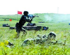 Китайско-российские военные учения 'Мирная миссия-2013' приближаются к последнему этапу -- ведение операции