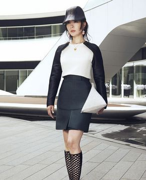 Красавица Чэнь Шу в нейтральном стиле