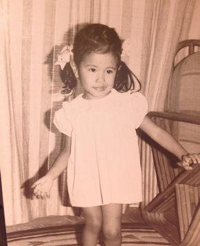 Симпатичная Мо Вэньвэй в детстве