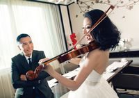 Романтические свадебные фотографии Чжэнь Цзыдань в честь 10-летия свадьбы