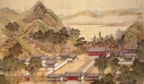 40 достопримечательностей в императорском парке Юаньминъюань