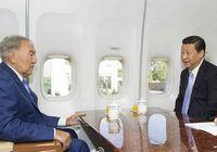 Совместный завтрак Си Цзиньпина и Нурсултана Назарбаева