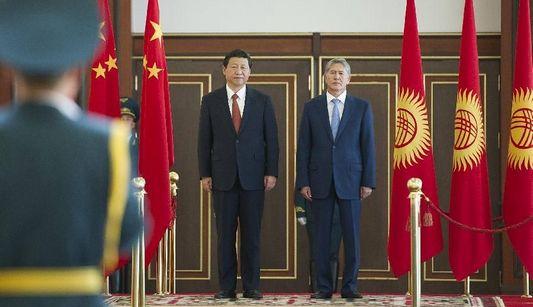 Си Цзиньпин прибыл в Бишкек с государственным визитом в Кыргызстан и для участия в саммите ШОС