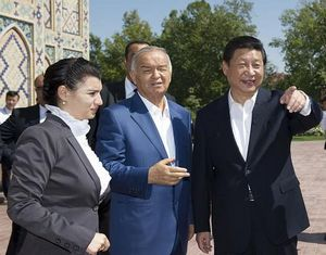 Си Цзиньпин посетил достопримечательности Узбекистана