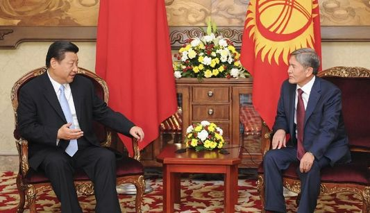 Си Цзиньпин и Алмазбек Атамбаев объявили о повышении уровня китайско-кыргызских отношений до стратегического партнерства