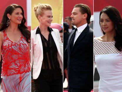 Парад кинозвезд на красной дорожке в г. Циндао, как на церемонии премии «Оскар»