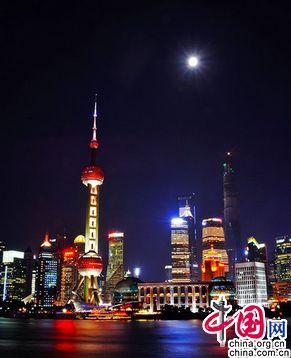 Чарующие ночные пейзажи Шанхая