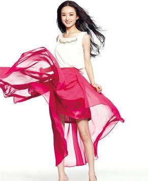 Восходящая телезвезда Чжао Лиин