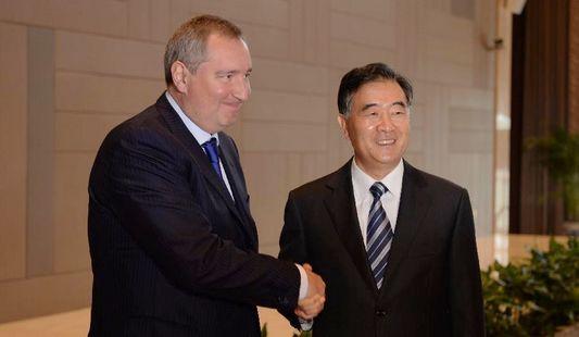 Ван Ян и Д. Рогозин провели 17-е заседание комиссии по подготовке регулярных встреч глав правительств Китая и России