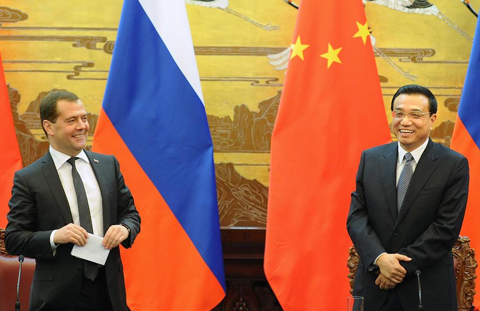 俄中两国总理10月底将在北京举行会晤