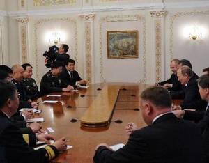 Президент РФ В. Путин встретился с заместителем председателя ЦВС КНР Сюй Циляном