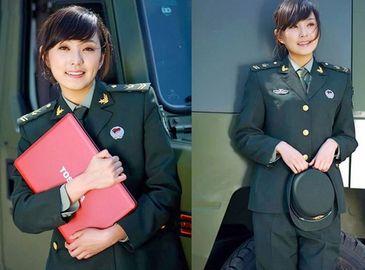 Яркие женщины- военнослужащие Китая
