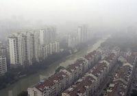 Смог окутал дельту реки Янцзы