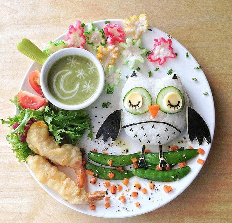 Вкусные и красивые завтраки для детей