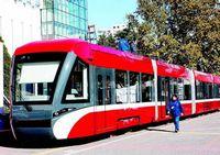 В Пекине появился современный трамвай с низким полом