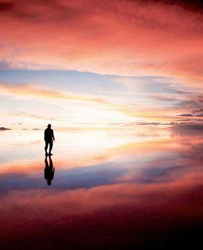 Удивительное соляное озеро Salar de Uyuni