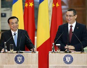 Ли Кэцян и премьер-министр Румынии В.Понта встретились с журналистами