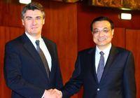 Ли Кэцян надеется на позитивную роль Хорватии в активизации китайско-европейских отношений