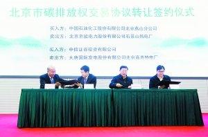 Пекин приступил к эксперименту по торговле квотами на выбросы углерода