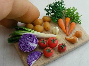 Миниатюры из еды от Aaron Shay