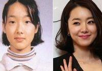 Южнокорейские популярные женщины-звезды до и после пластики