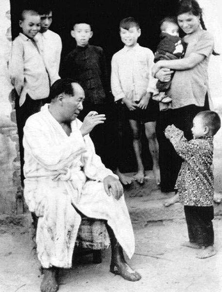 Редкие фотографии Мао Цзэдуна
