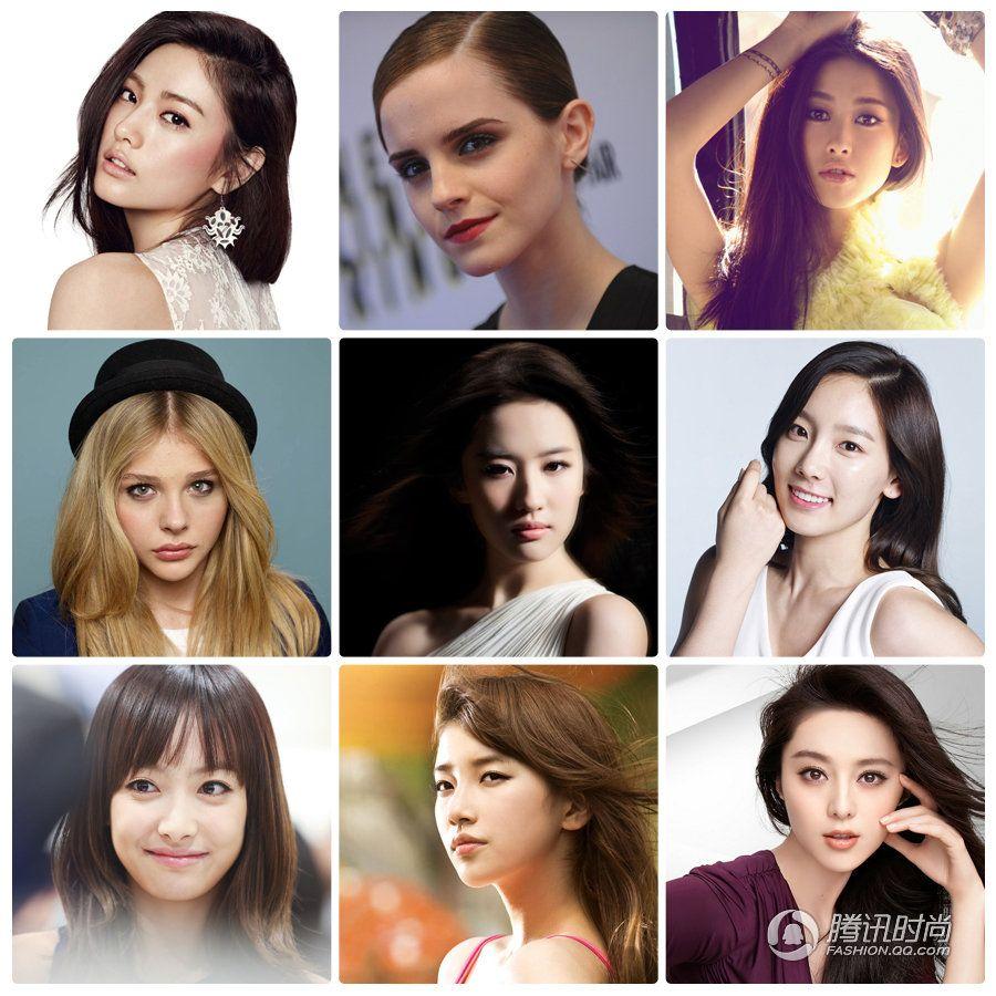 Топ-100 самых красивых лиц мира 2013 года