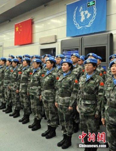 Десять знаменательных моментов китайской армии за рубежом в 2013 году