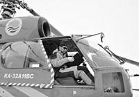 Китайский вертолет 'Сюеин-12' оценил с воздуха ситуацию с российским кораблем 'Академик Шокальский'