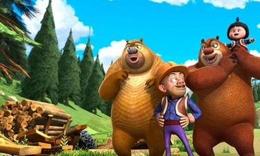 В первые дни проката мультфильм 'Медведи и соседи' собрал больше 100 млн юаней