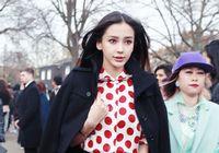 Красавица Аngelababy на Неделе моды в Лондоне