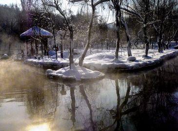 Урумчи после снегопада