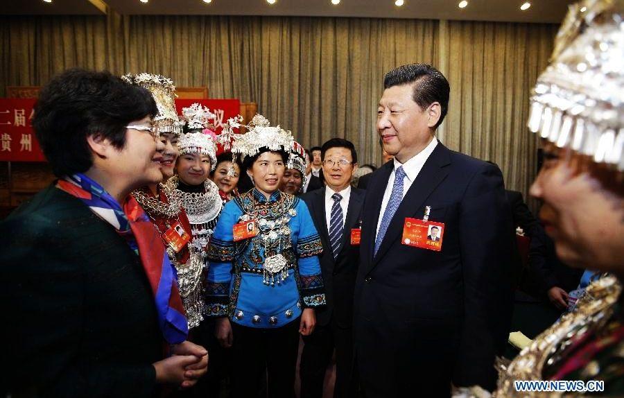 /Сессии ВСНП и ВК НПКСК/ Си Цзиньпин подчеркнул важность принесения жителям бедных районов реальной пользы