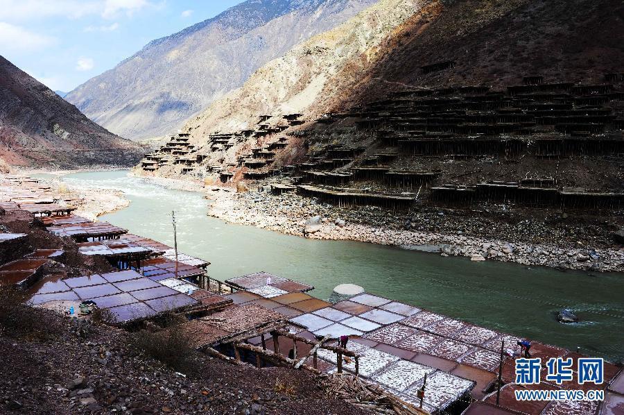 Тысячелетние соляные поля в Тибете