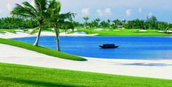 Прекрасный корт гольфа в Боао1