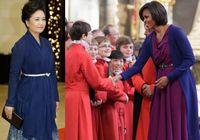 Модные первые леди Китая и США