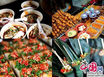 Вкусные деликатесы Чэнду