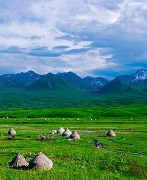 Путешествие по самой красивой автодороге в СУАР Тяньшань
