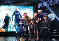 Скарлетт Йоханссон прибыла в Пекин для презентации нового фильма «Капитан Америка: Зимний солдат»